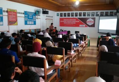 Sosialisasi Langkah Bijak Berinternet di Net 1 Indonesia & Layanan Mandiri OpenSID Sungai Kamuyang