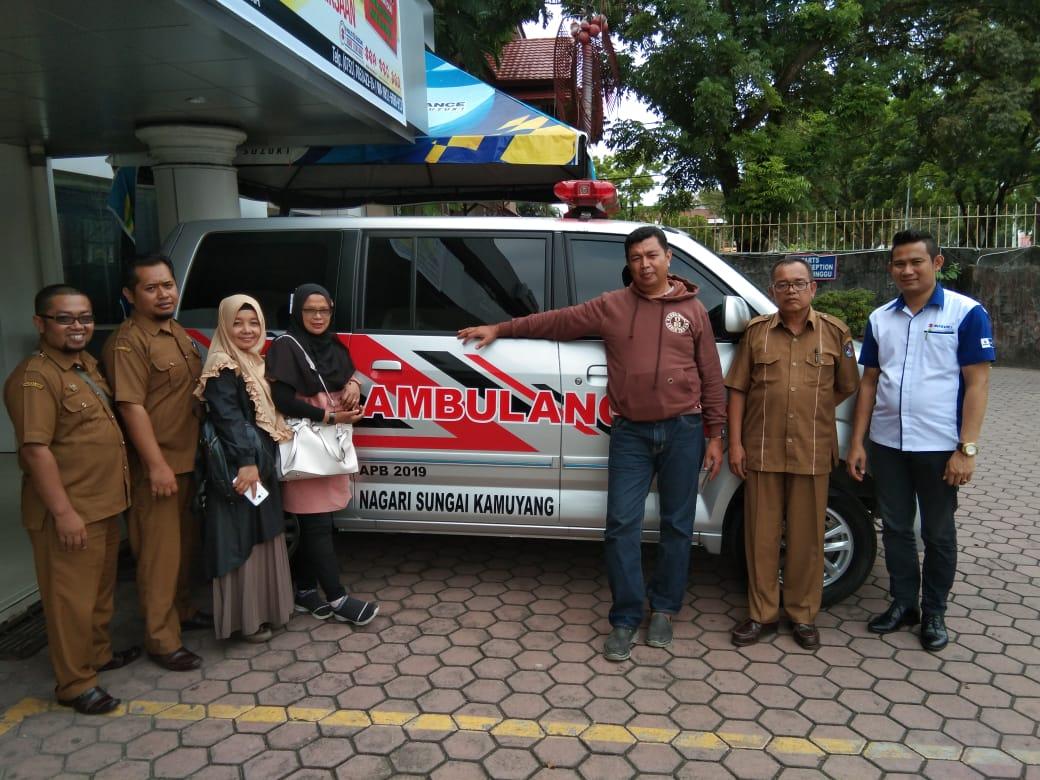 Ambulance Nagari Sungai Kamuyang APB 2019